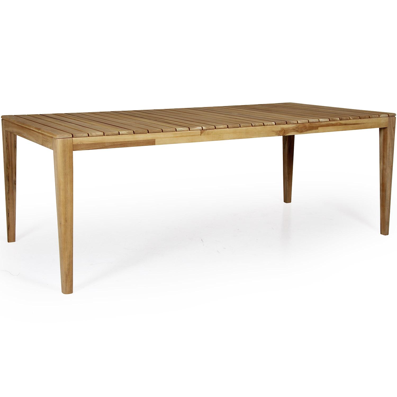 "Обеденный стол из тика ""Agios"", 205×100 см"