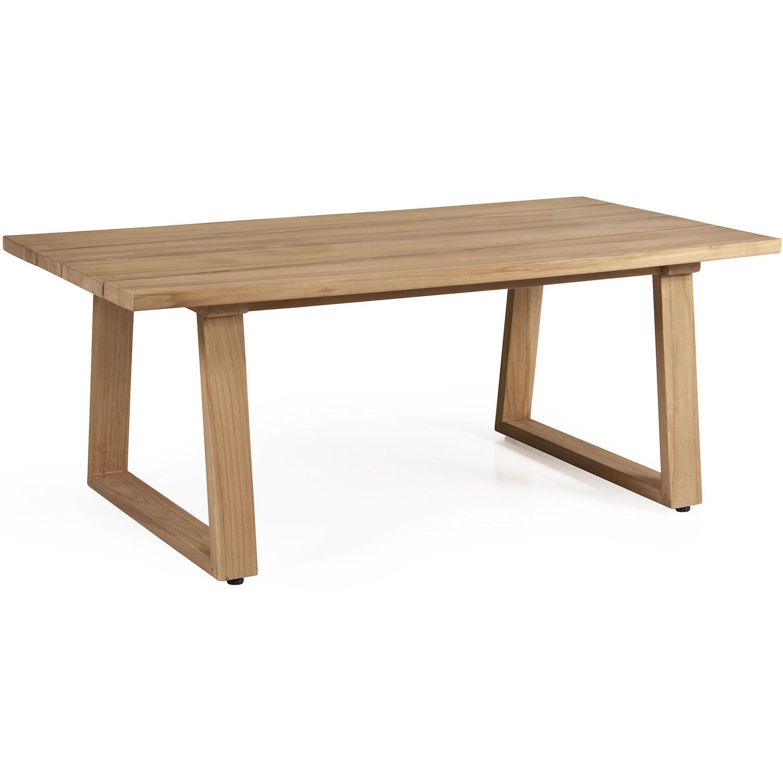 """Кофейный стол из тика """"Laurion"""", 130×67 см"""
