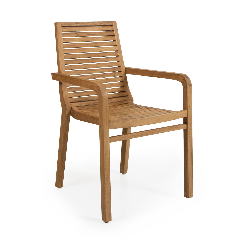 "Обеденное кресло из тика ""Volos"""