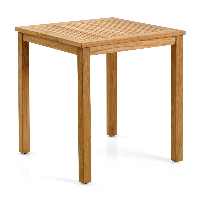 "Обеденный стол из тика ""Volos"", 70×70 см"