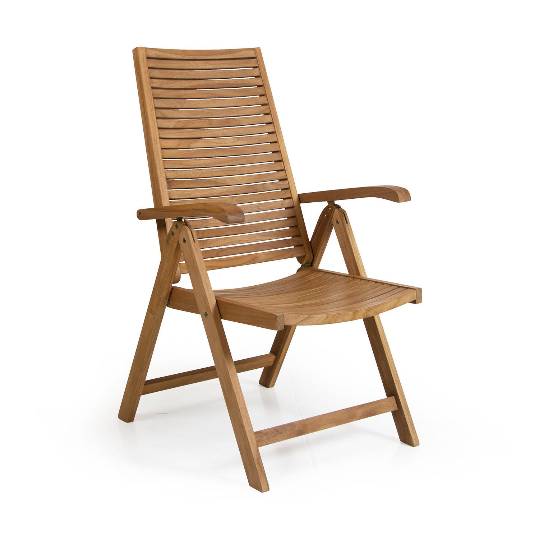 """Позиционное кресло из тика """"Volos"""""""