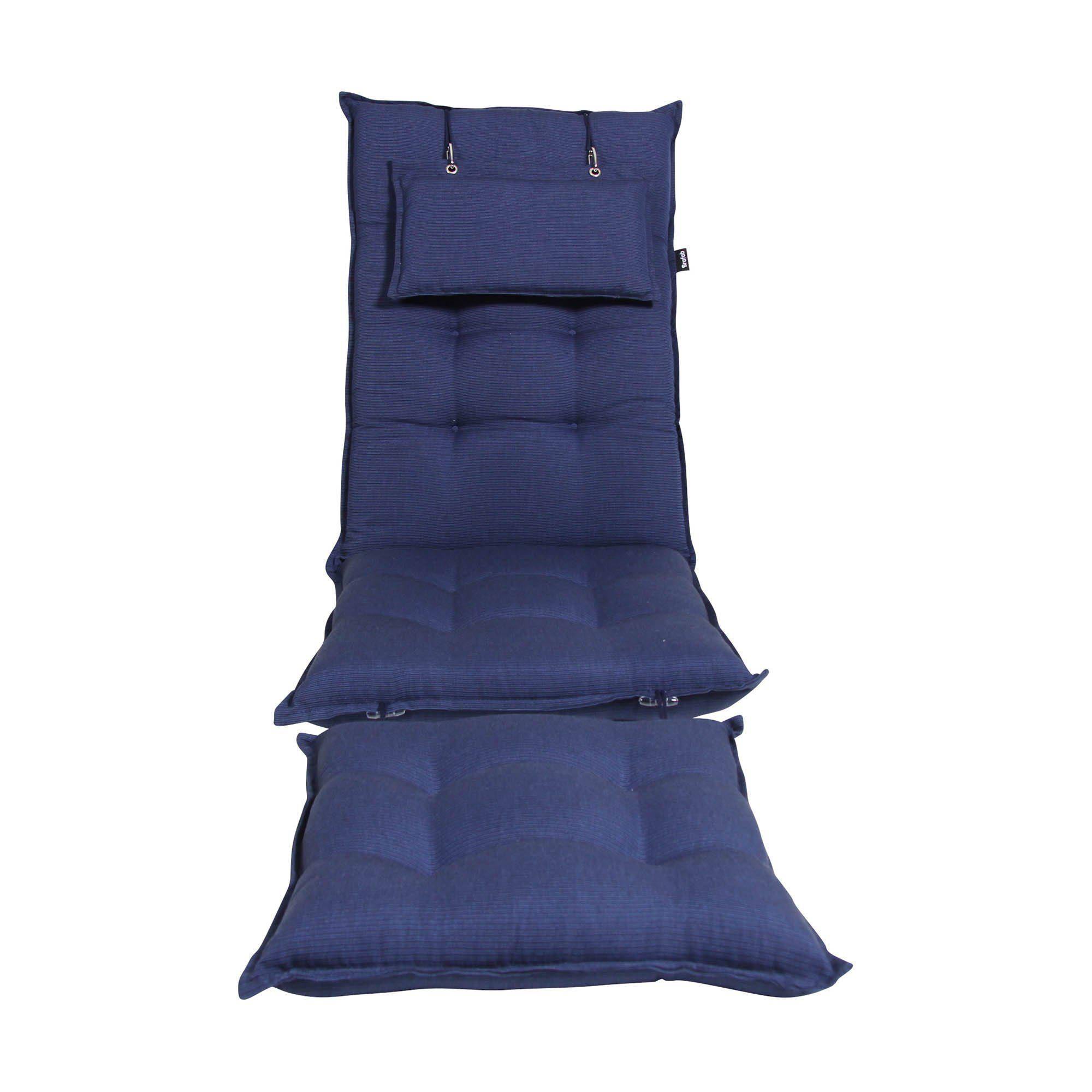 """Подушка для шезлонга """"Florina"""", цвет синий"""