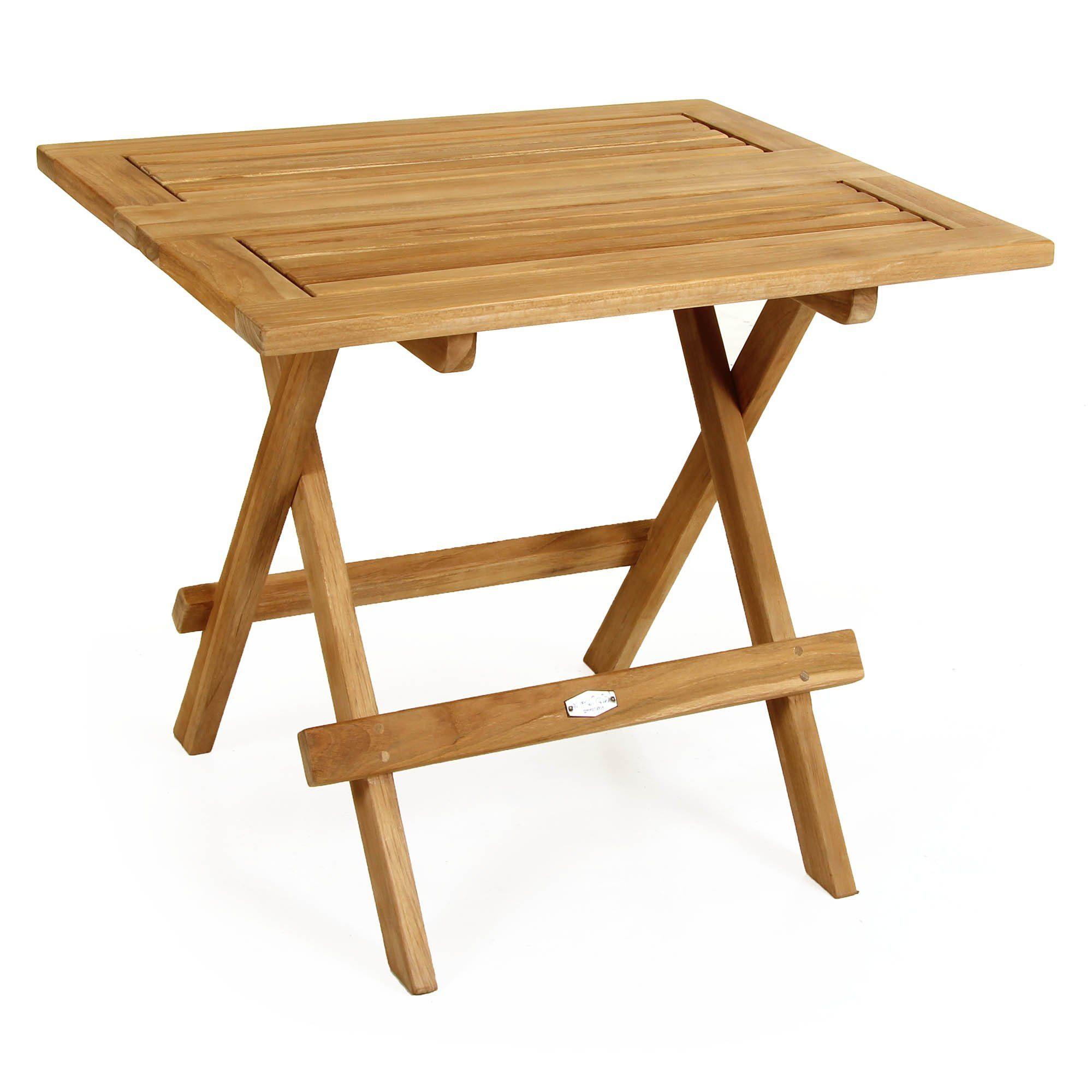 """Кофейный стол из тика """"Hydra"""", 50×58 см"""