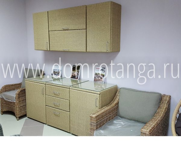 "Плетеная кухня ""Rotang-Kitchen"" Set Malaga"