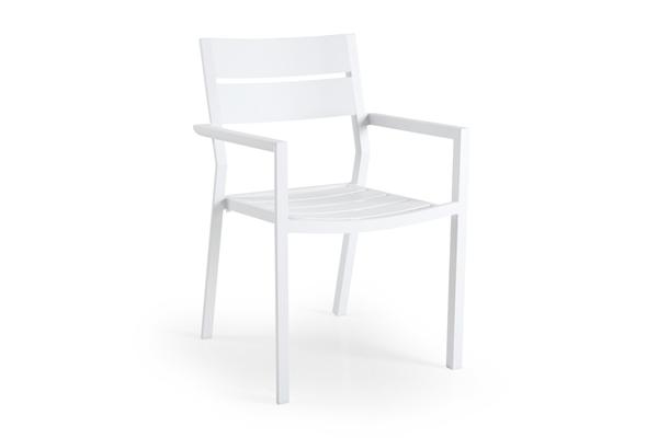 """Кресло садовое алюминиевое """"Delia"""" белый Brafab"""