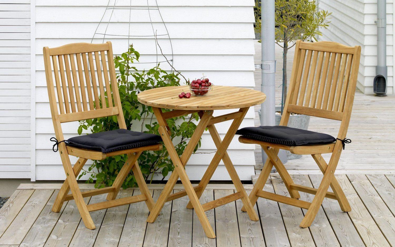 """Кофейный стол из тика """"Nova"""", Ø 70 см"""