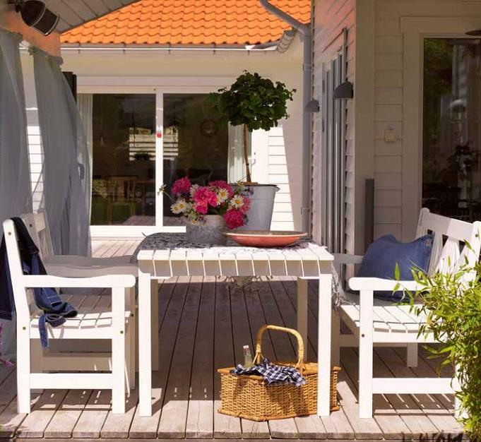 """Садовая мебель из сосны """"Grundsund"""" Brafab"""