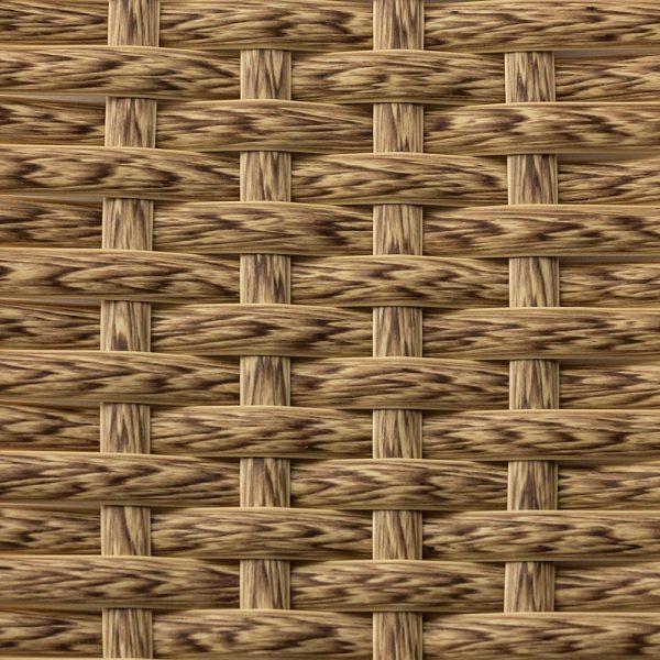 Искусственный ротанг Flat Indian Wood