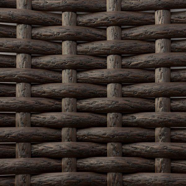 Искусственный ротанг Flat Wenge Wood