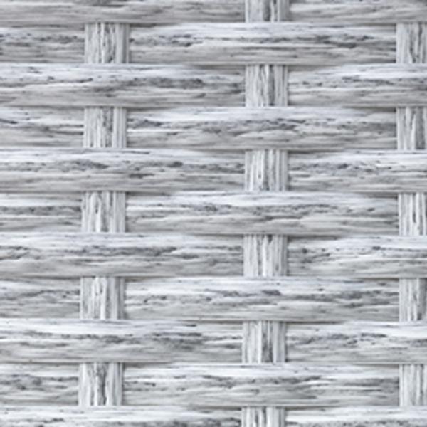 Искусственный ротанг Flat White Wood