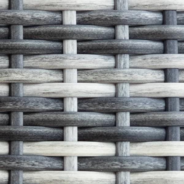 Искусственный ротанг Flat Teak grey