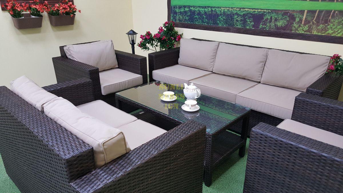 "Комплект плетеной мебели ""Acoustic"" lounge"