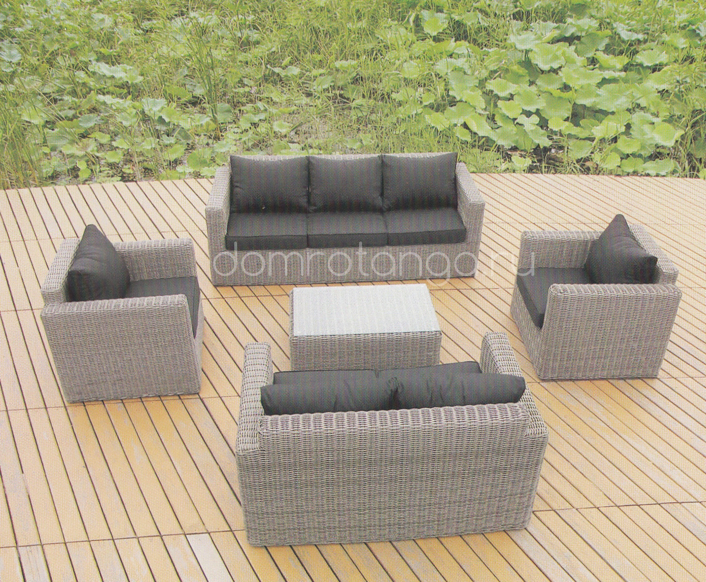 Плетеная мебель «Milano»