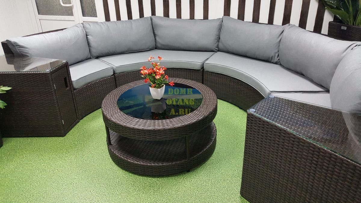 "Комплект плетеной мебели ""Galaxy"" lounge 7"