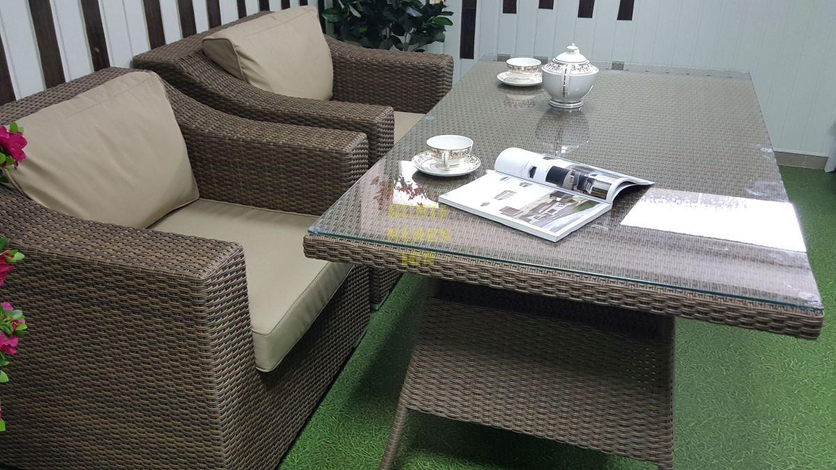 """Комплект плетеной мебели """"Glendon"""" 4 dining"""