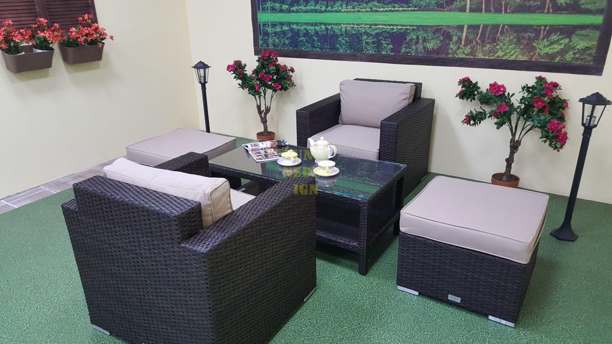 "Комплект плетеной мебели ""Acoustic"" balcony set"