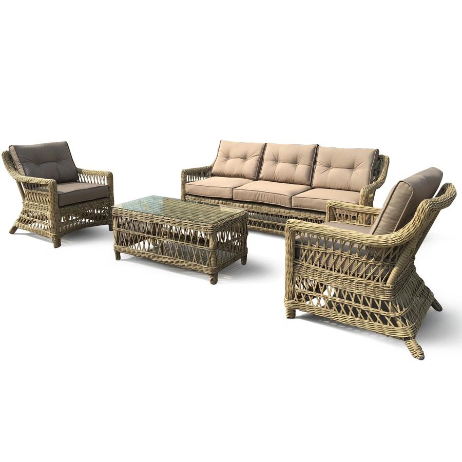 """Мебель из искусственного ротанга """"Beatrix"""" lounge"""