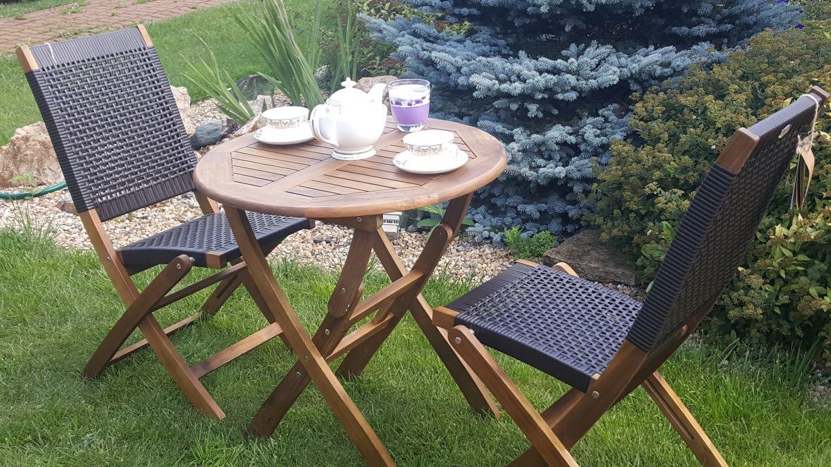 Садовая мебель «Ever ton brown» на 2 персоны