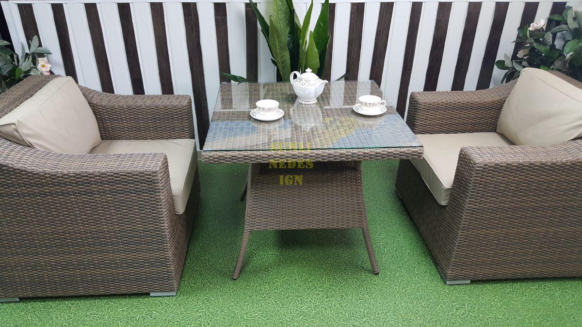 """Комплект плетеной мебели """"Glendon"""" 2 dining"""
