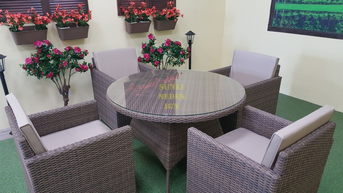 "Комплект плетеной мебели ""Nina & Infinity"" 4"