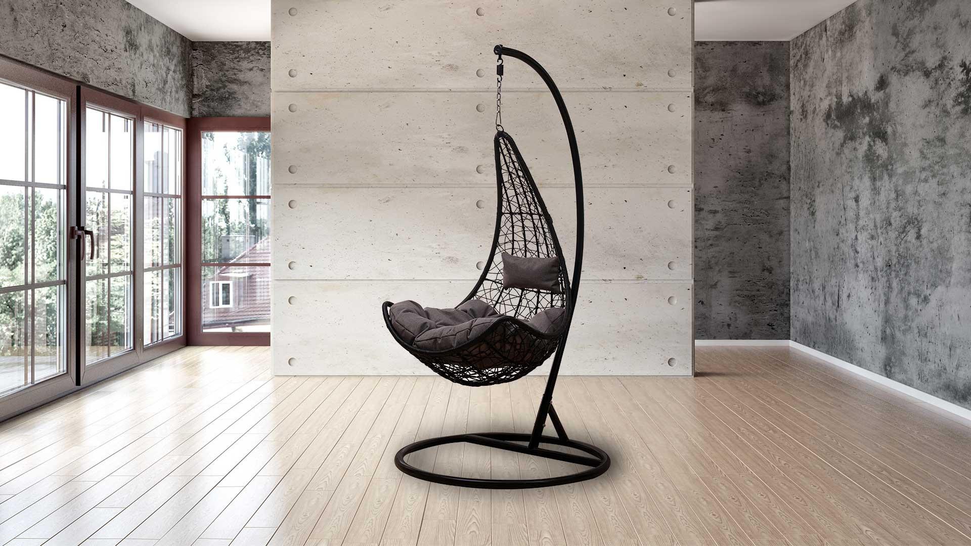 "Подвесное кресло ""VOLO"" black"