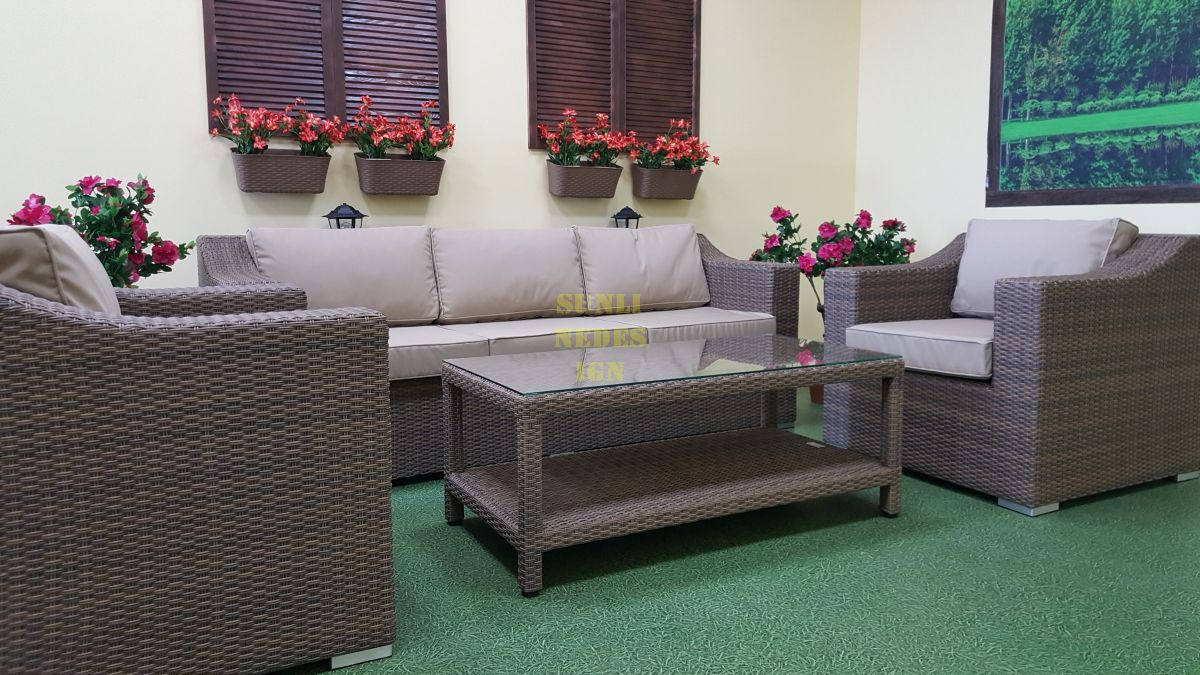 "Комплект плетеной мебели ""Glendon"" lounge beige"