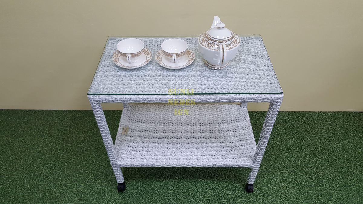 """Сервировочный стол из искусственного ротанга """"Pegas"""""""