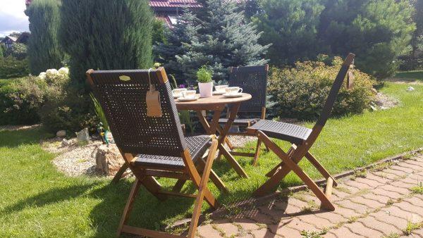 Садовая мебель «Ever ton brown» на 3 персоны