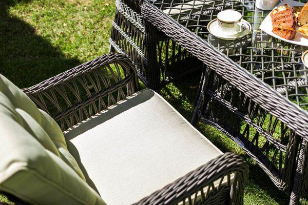 """Плетеное кресло """"Cannes"""" обеденное"""