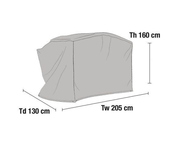 Чехол для качелей 210х130 см