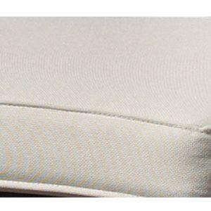 """Подушка на табурет """"Evita/Modesto"""", цвет белый"""
