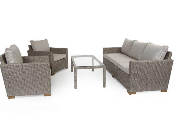 """Комплект плетеной мебели """"Canby classic set"""", цвет бежевый"""