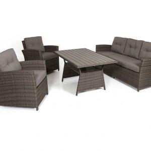 """Плетеная мебель """"Soho brown"""" Brafab"""
