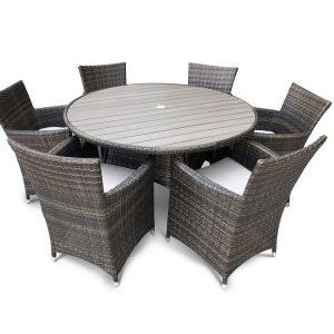 """Плетеная мебель """"Венторро"""", цвет коричневый"""