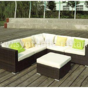 """Плетеная садовая мебель """"Barbados Lounge (Макассарский Эбен)"""""""