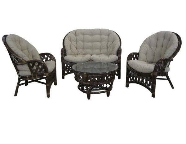 "Комплект плетеной мебели ""Churchill"" 2"