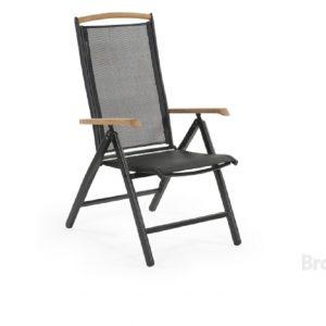 """Кресло из текстилена """"Andy"""" черный Brafab"""