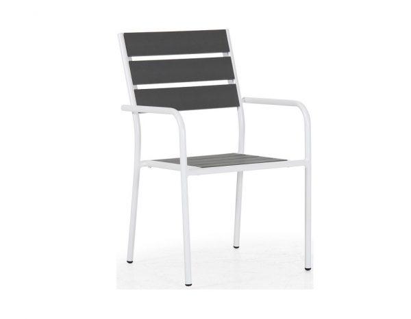 """Кресло """"Antibes"""", цвет белый/серый"""