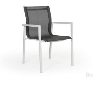 """Кресло из текстилена """"Belfort"""", цвет белый/серый Brafab"""