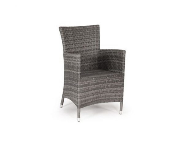 """Плетеная мебель """"Ninja grey dinner-4"""""""