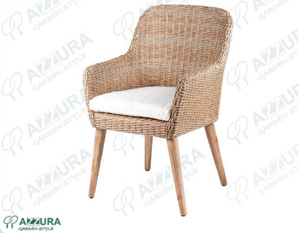 """Кресло из ротанга """"Coco"""", цвет натуральный"""