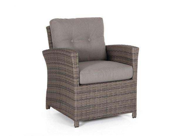 """Кресло из искусственного ротанга """"Soho brown"""" Brafab"""