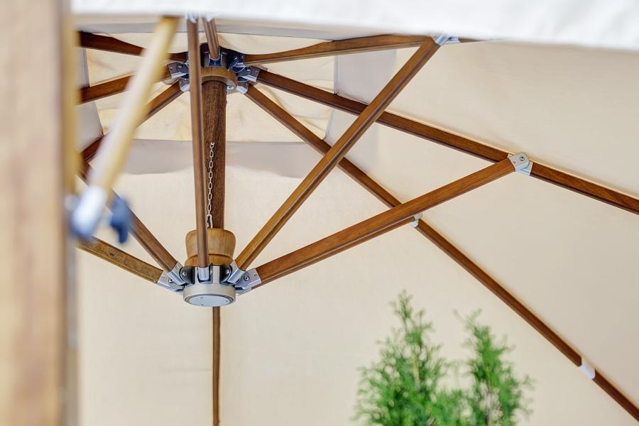 """Зонт """"Ливорно"""", купол 3x3 м."""