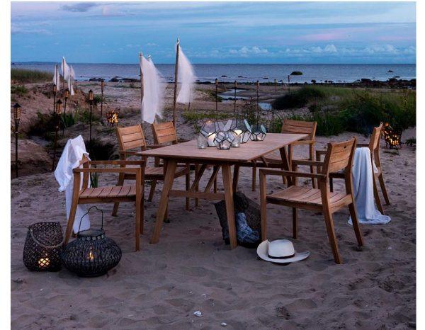 """Садовая мебель из тика """"Chios"""" Brafab"""