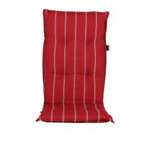 """Подушка на кресло """"Naxos"""", цвет красный в полоску"""