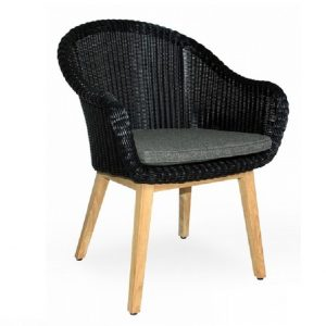 "Плетеное кресло ""Beverly"" black Brafab"