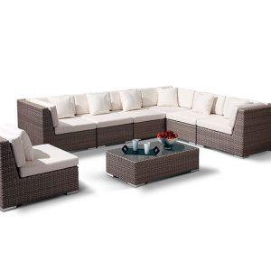 "Плетеная мебель лаунж зона ""Беллуно"""