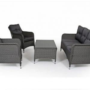 """Комплект плетеной мебели """"Colby grey sofa set"""""""