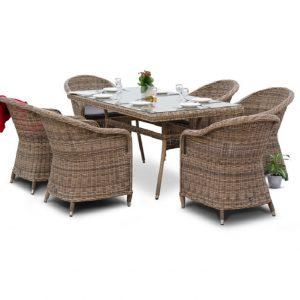 """Комплект плетеной мебели """"Эспрессо"""", обеденная группа"""