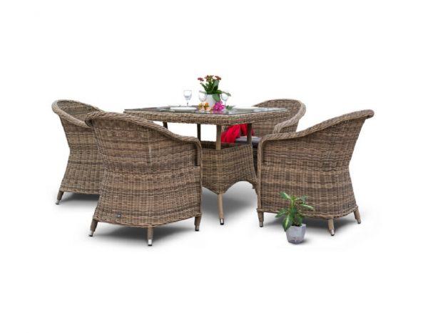 """Комплект плетеной мебели """"Фредо"""", обеденная группа"""